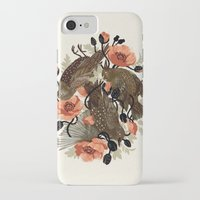 dead iPhone & iPod Cases featuring Spangled & Plumed by Teagan White