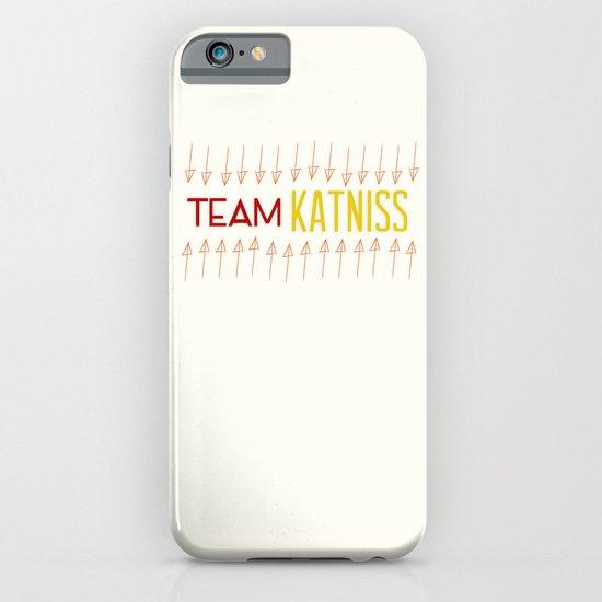 Team Katniss iPhone & iPod Case