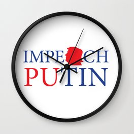 Impeach Putin Wall Clock