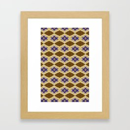 Blue and Brown by Melissa Brown Framed Art Print