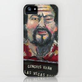 Genghis Khan's Vegas Arrest iPhone Case