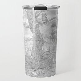 The Dragon and Cadmus. Travel Mug