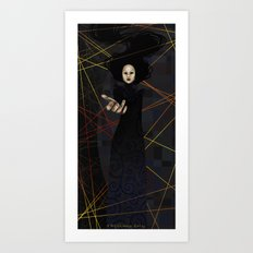 The Raven Queen Art Print