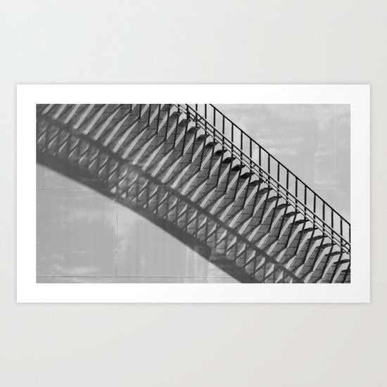Just After Mid-Day   (bw) Art Print