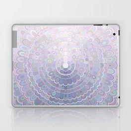 Pale Flower Mandala Laptop & iPad Skin