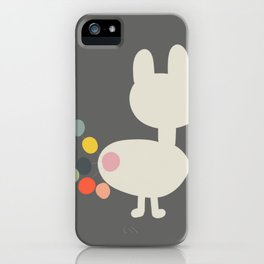Bunny Farts iPhone Case