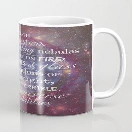 Dr Who Quotes Coffee Mug