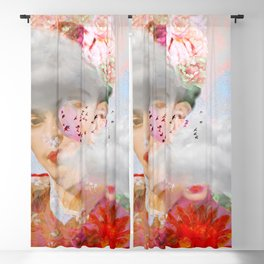 The essence of Frida Blackout Curtain