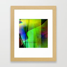 Multicolored abstract 2016 / 006 Framed Art Print