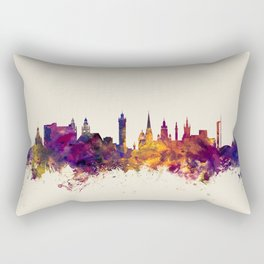 Glasgow Scotland Skyline Rectangular Pillow