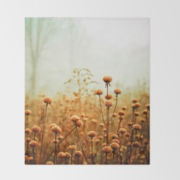 Daybreak in the Meadow Throw Blanket