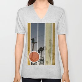 Boardwalk Nights Unisex V-Neck