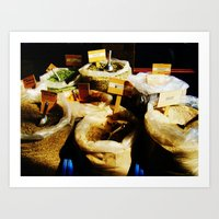 spice Art Prints featuring Spice by Madison Webb