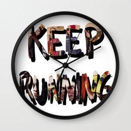 Killjoys, Keep Running Wall Clock
