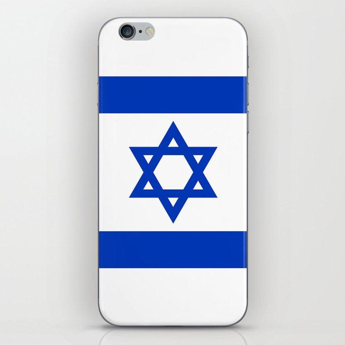 National flag of Israel iPhone Skin