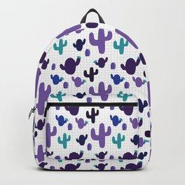 Cactus purple #homedecor Backpack