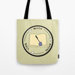 Write - Think - Edit Tote Bag