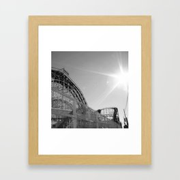 off season Framed Art Print