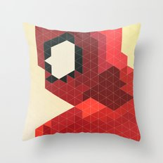 Geometric Spider-Man Throw Pillow