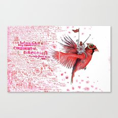 The Cardinal of Direction Canvas Print