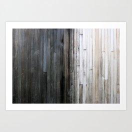 Wood Wall Art Print
