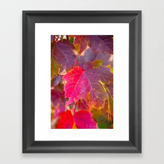 Fall Party Framed Art Print