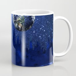 A megalodon on the blue planet Coffee Mug