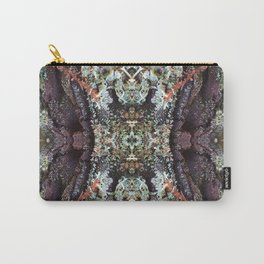 Redwood Bark Kaleidoscope - Purp Edition Carry-All Pouch