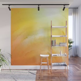 abstract sunrise Wall Mural
