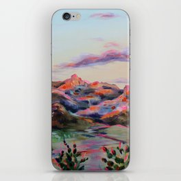 Tucson Sunset by the Catalina foot hills - Thimble peak iPhone Skin