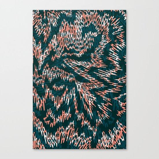"TIGUE ""PEAKS"" inside Canvas Print"