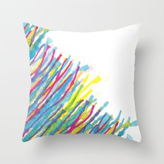 stripes in the wind Throw Pillow