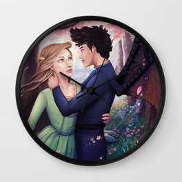 Flowerborn Wall Clock