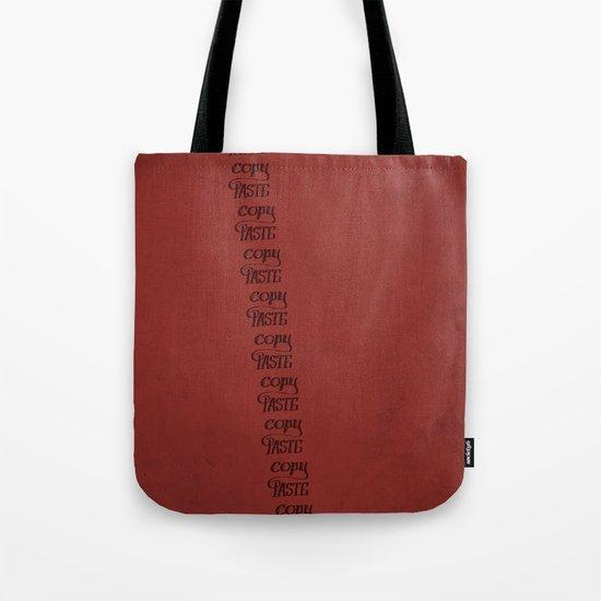 Handwriting: Copy Paste Tote Bag