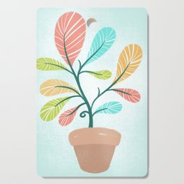 Potted Plant Cutting Board