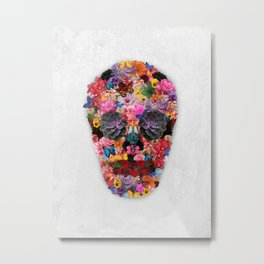Dead Florists Society (Light) Metal Print