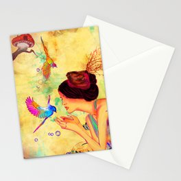 Sweet Content Stationery Cards