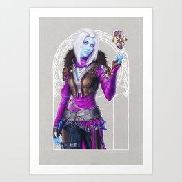 Awoken Queen Art Print