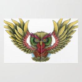 Swooping Owl Rug