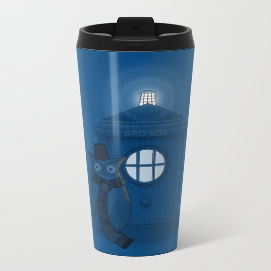 Dr Who Who? Metal Travel Mug