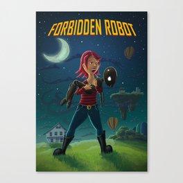 Forbidden Robot Canvas Print