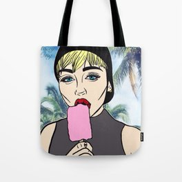 Miley Popsicle Paradise Tote Bag