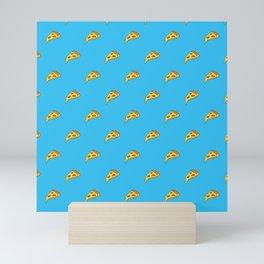 Pizza Pattern | Fast Food Cheese Italian Mini Art Print
