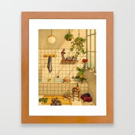 Bathroom Framed Art Print