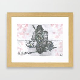 Reflecting Reality Framed Art Print