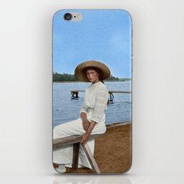 Grand Duchess Tatiana Nikolaevna of Russia in Finland - Colorized iPhone Skin
