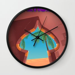 Persia Palace Wall Clock