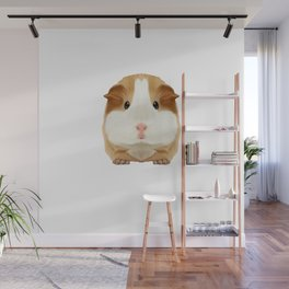 Guinea Pig Make me Happy People Wheek Gift Idea Wall Mural