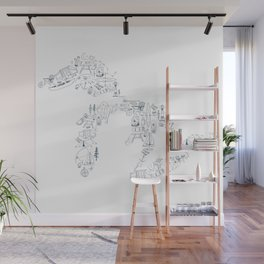 Great Lakes Up North Collage Wall Mural