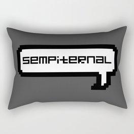 Sempiternal - Grey Rectangular Pillow
